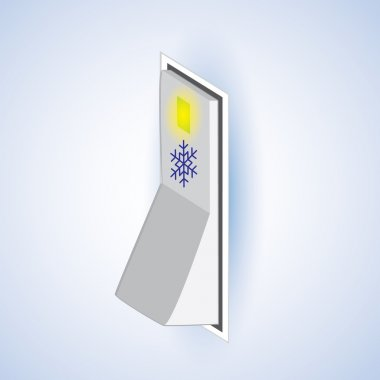 christmas snowflake on/off switch