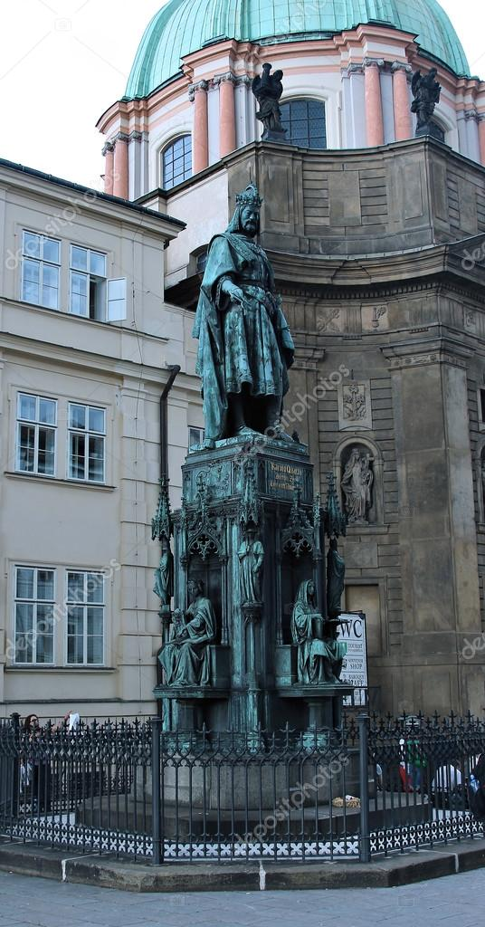 チェコ王プラハでカール 4 世の...