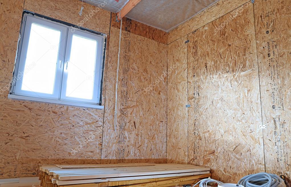 Bau der Holzrahmen Wände — Stockfoto © Kingan77 #64640543