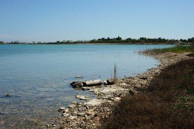 Lake Moinaki. Evpatoria. Crimea