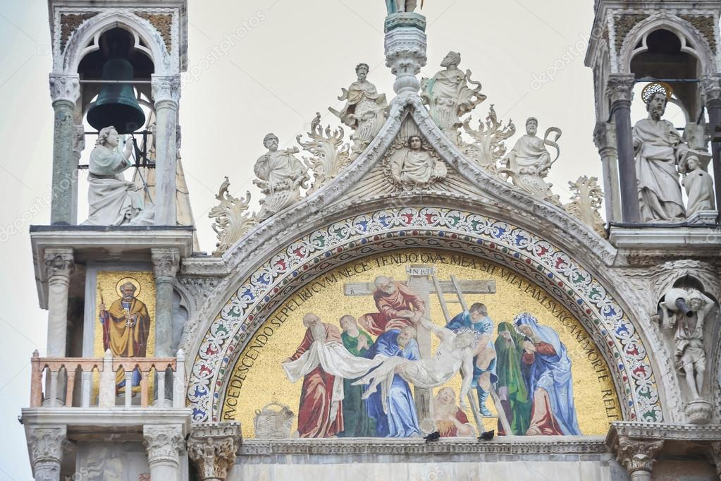 Mosaico della basilica di san marco a venezia foto stock for Esterno basilica di san marco