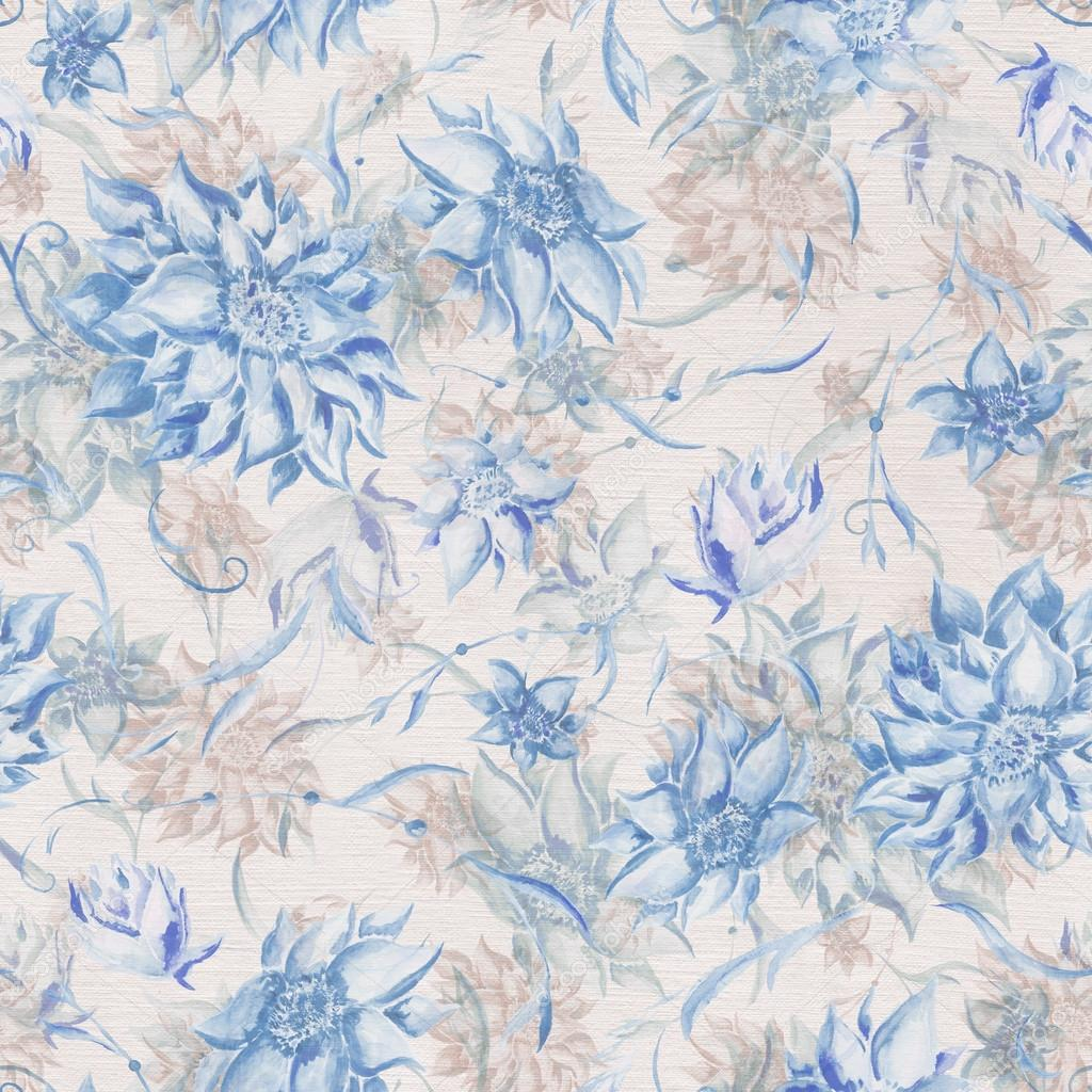Vintage watercolor pattern