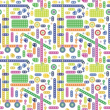 Colorful transport pattern