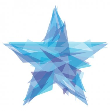 Creative polygon star