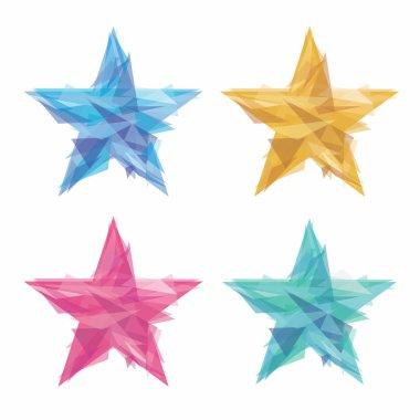 Creative polygon stars
