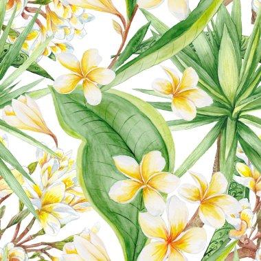 Exotic Plants Pattern