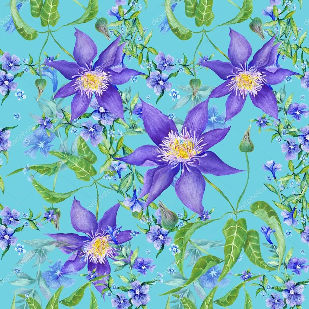 Fresh Summer Floral Texture