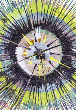 Abstract Expressionism Painting - Yellow Contrast