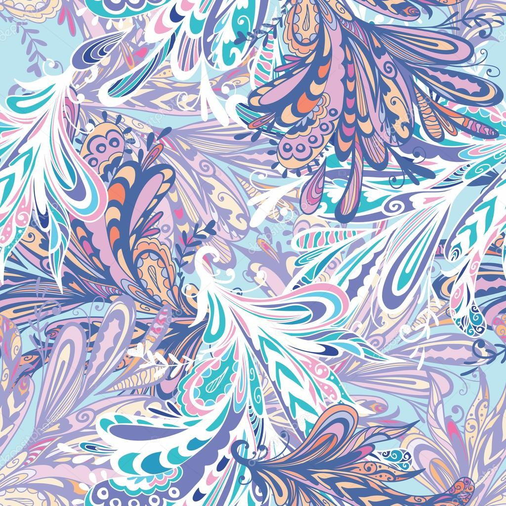 Winter Abstract Vector Pattern