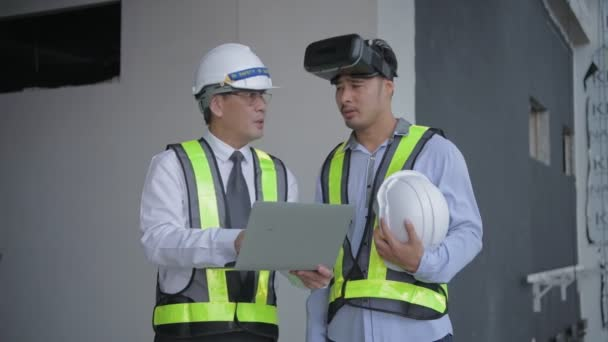Engineer concept of 4k Resolution. Business people planning work with a virtual image system.