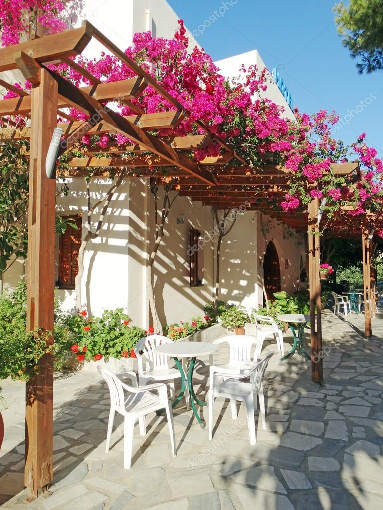 hotel di lusso, costruzione di balconi e terrazzi santorini Grecia ...