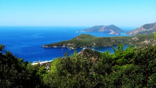 A kék lagúna és a strand oludeniz Törökország panoráma