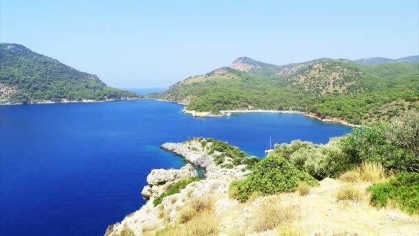 Tengerpart táj, a Földközi-tenger-Törökország