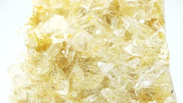 citrine geode geological crystals