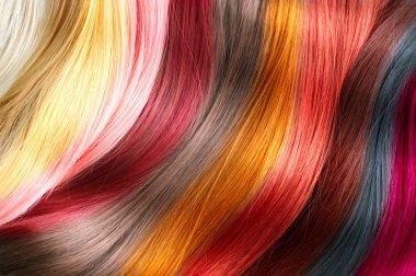 Hair colors palette.