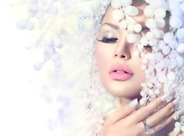 Winter Beauty Model Girl