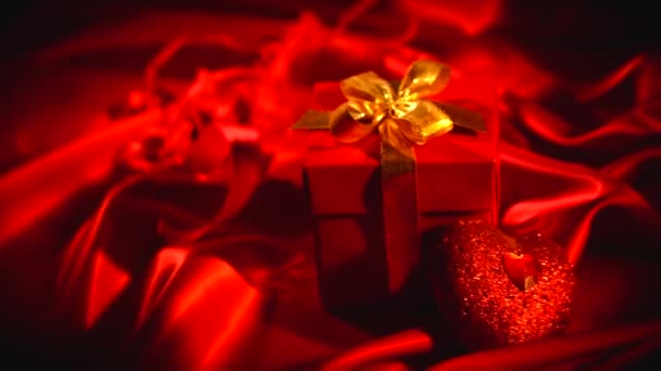 Den svatého Valentýna červené dárkové