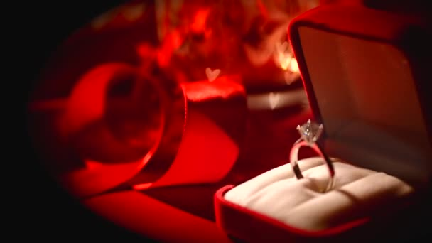 Diamond ring. Valentines Day Gift