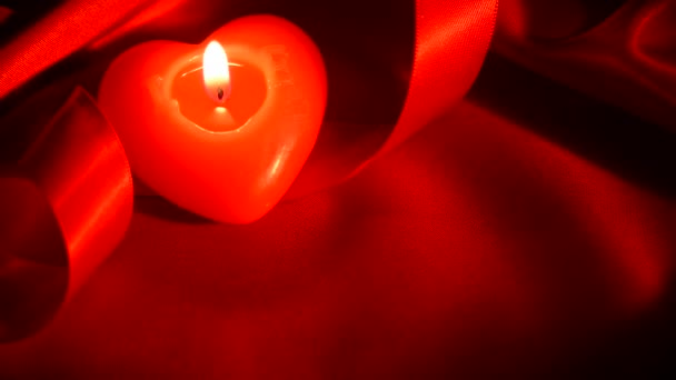 Valentines Heart Candle