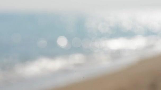 Rozostření pozadí rozostřeného moře
