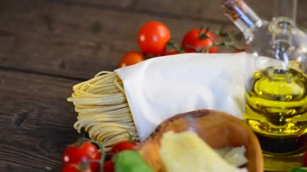 Italienische hausgemachte Spaghetti