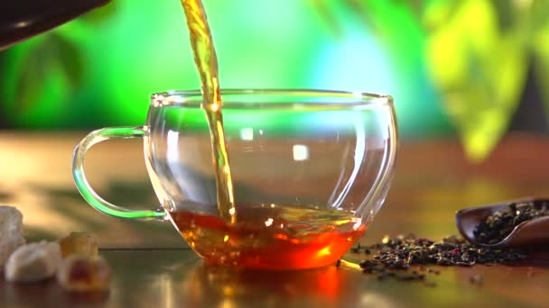 šálek čaje closeup