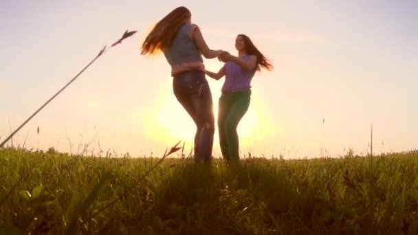 teen girls having fun outdoors.