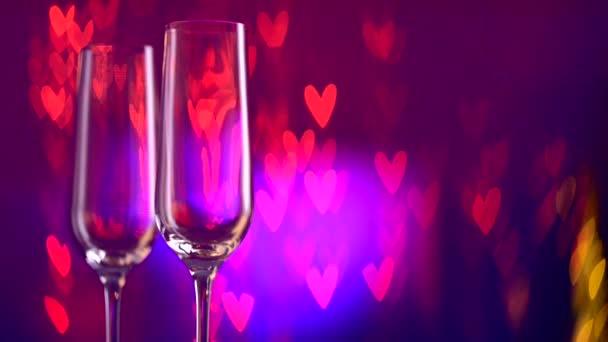 zwei champagner-gläser