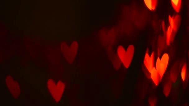 Valentin szívek villogó háttér