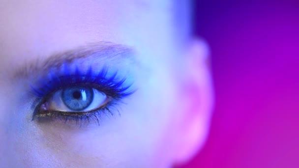 Dovolená Make-up pro modré oči