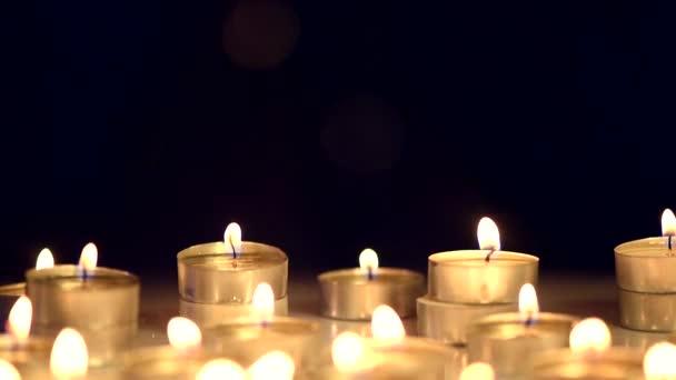 Svíčky světlo pozadí.