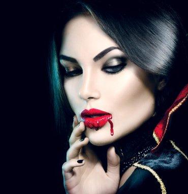 Beauty sexy vampire girl