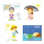 Meleg időjárás elleni