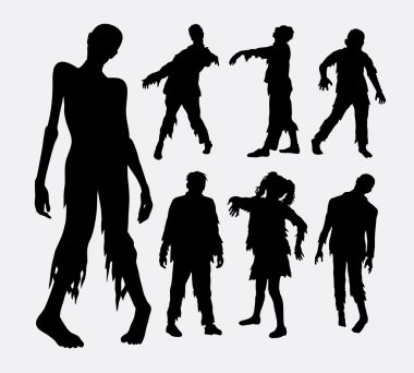 Fat people silhouettes. Good use for symbol, logo, web icon, mascot, or any design you want. Easy to use icon