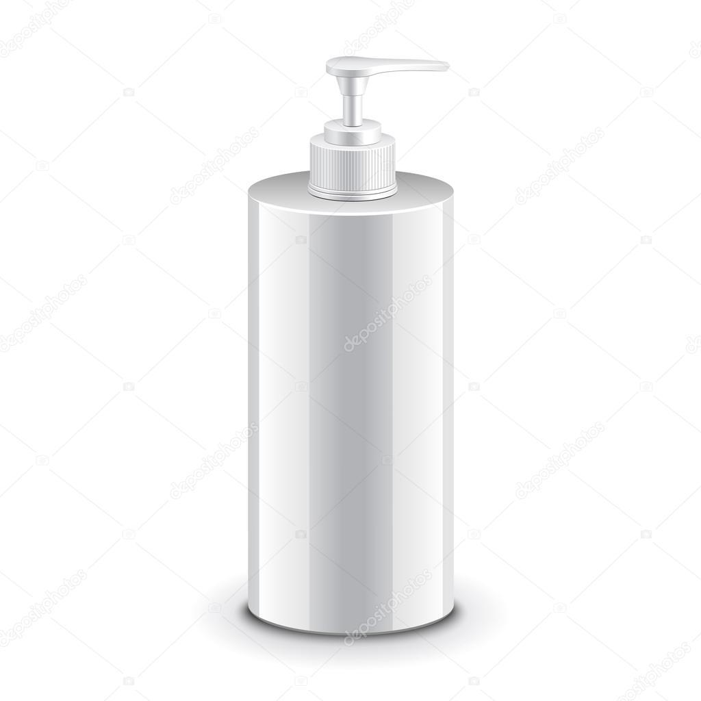 Inteligentny Kosmetycznych plastikowa butelka z pompką dozownik — Grafika TM11