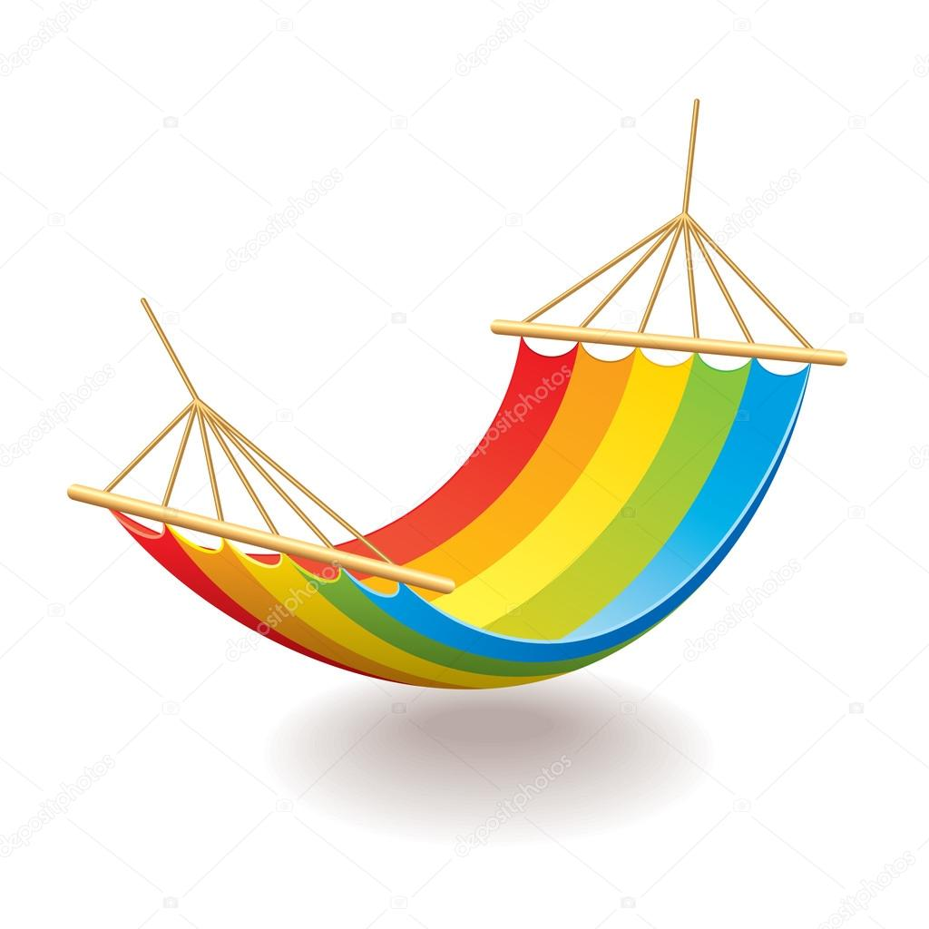 colorful hammock isolated on white photo realistic vector illustration  u2014 vector by andegraund548 colorful hammock isolated on white vector  u2014 stock vector      rh   depositphotos