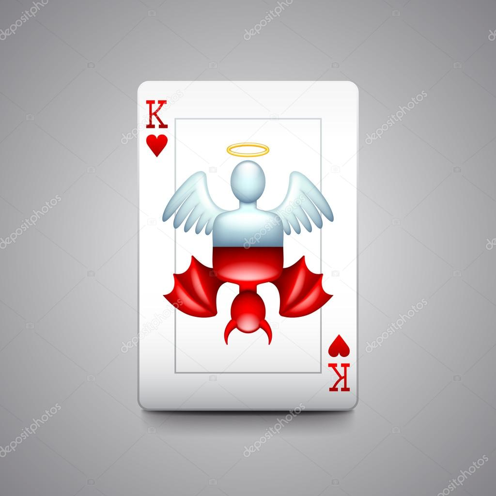 Ангел и дьявол играли в карты google как играть в карты