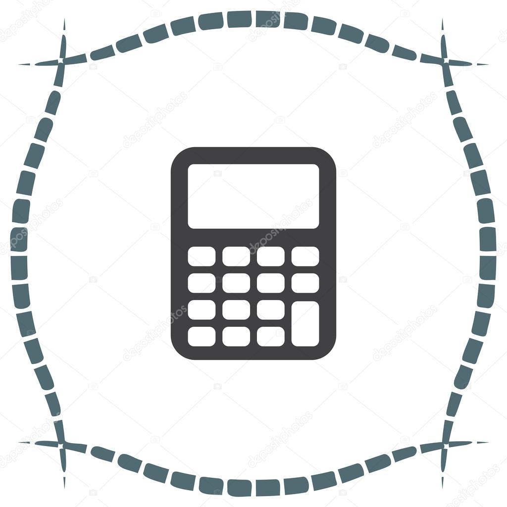 cálculo de elemento símbolo — Vector de stock © quka #121168014