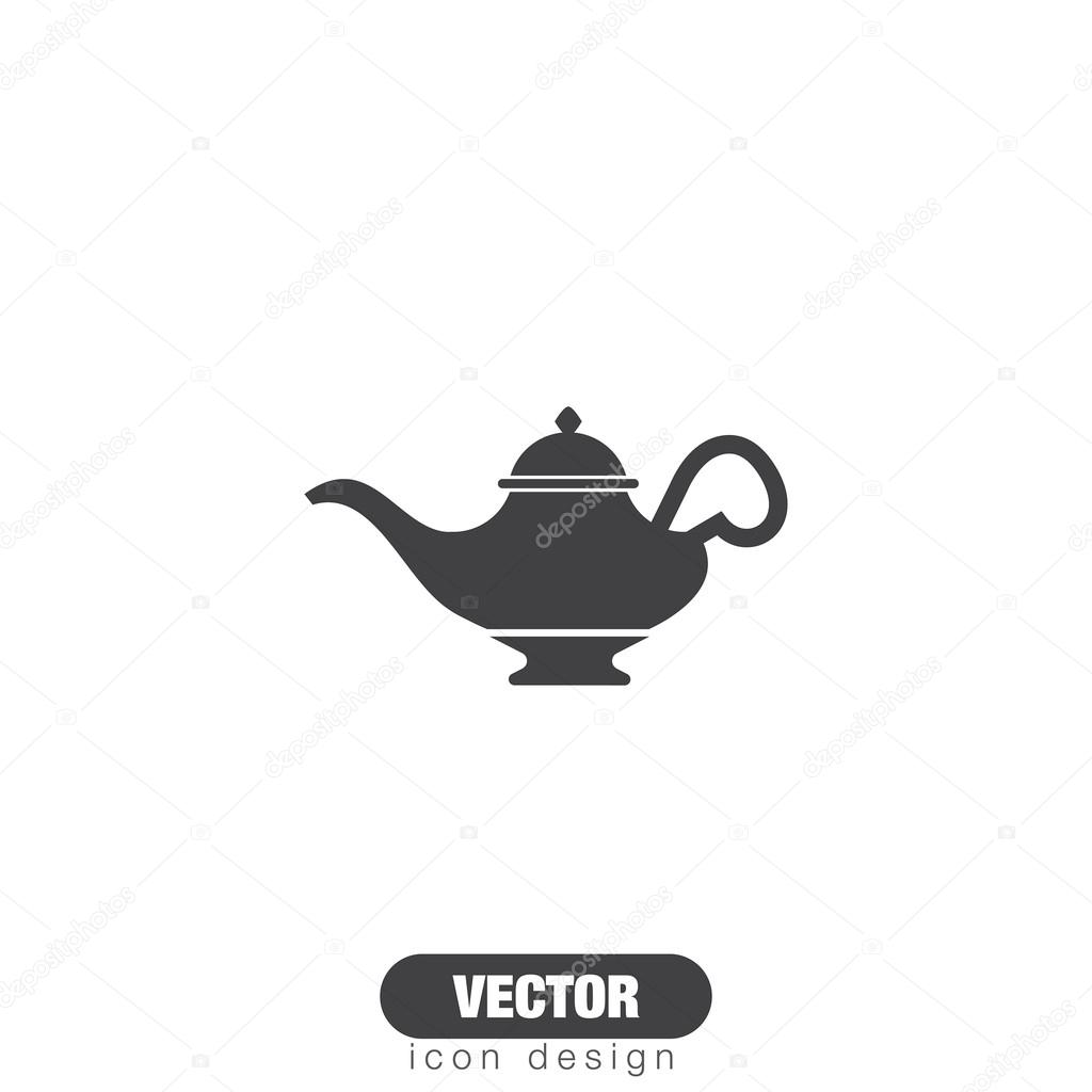 Magic Lamp Icon Stock Vector Quka 122045328