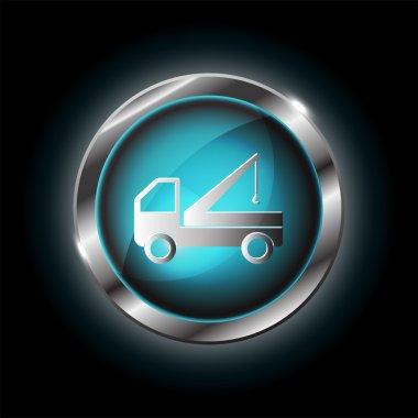 truck crane icon