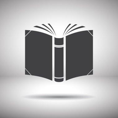 open book vector icon
