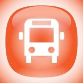 Autobus vektorové ikony