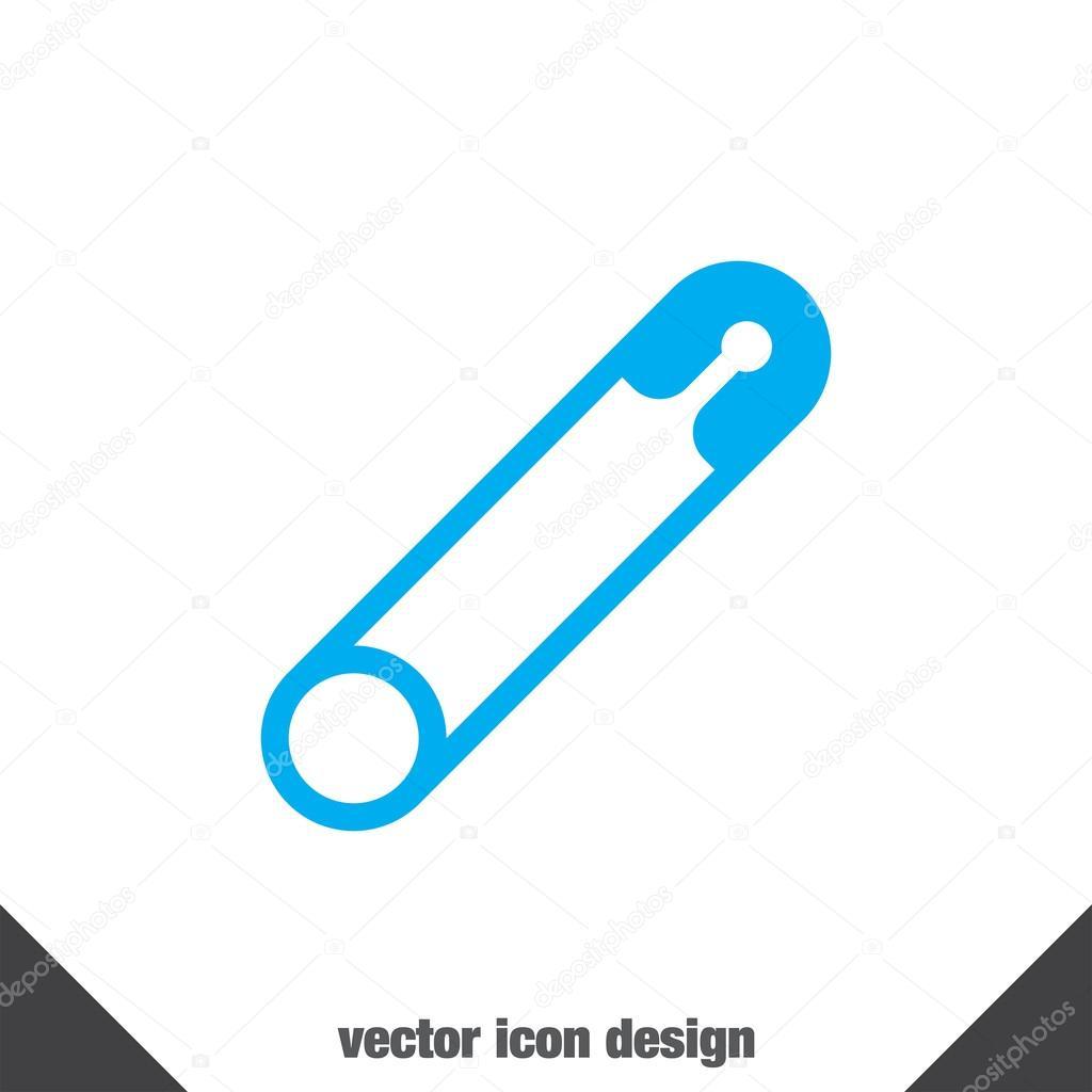 Safety pin vector icon stock vector quka 85471268 safety pin vector icon stock vector buycottarizona Choice Image