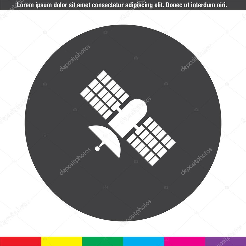 satellite vector icon — Stock Vector © quka #85475290