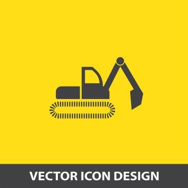 dredge symbol vector icon