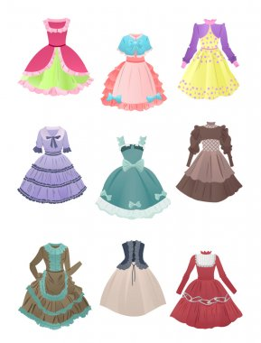 Dresses for cosplay