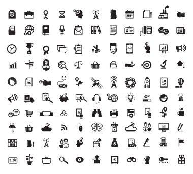 Icons. Vector format.jpg stock vector