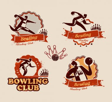 Bowling. Vector format