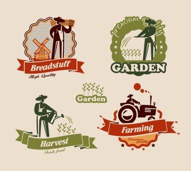 Farming. Vector format
