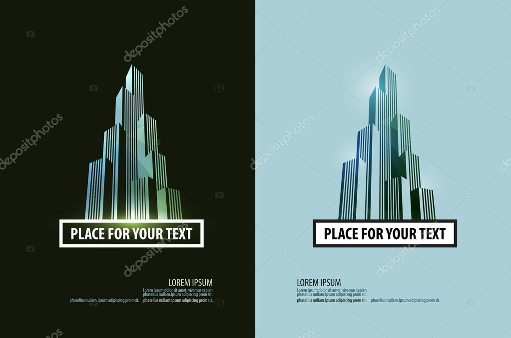 building vector logo design template. business or finances icon.